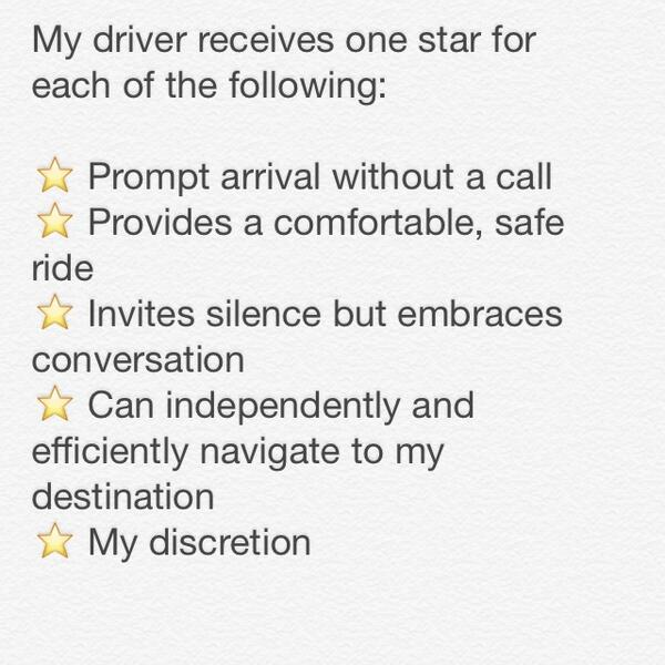 My @uber rating policy http://t.co/soLKWvEB8E