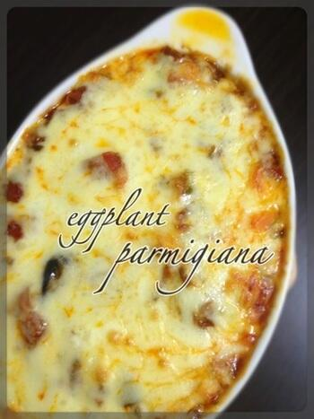 日本人をトリコにするイタリア料理♡【パルミジャーナ】パスタや食パンと相性バツグンですよ♡レシピはこちら→