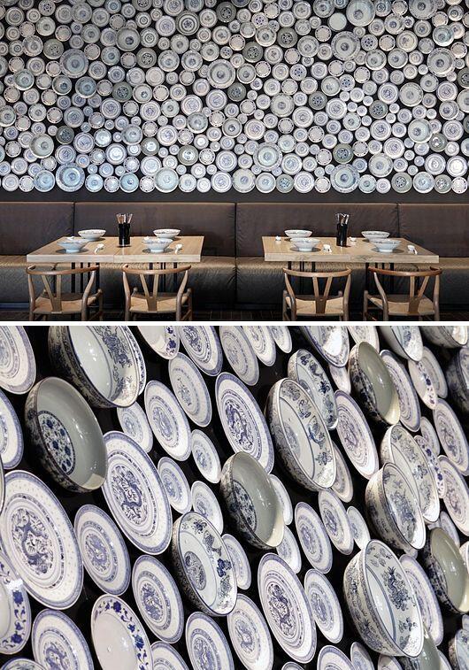 An unique restaurant look: China plated walls? #walls #decal #design http://t.co/0ruLHVJ9n9