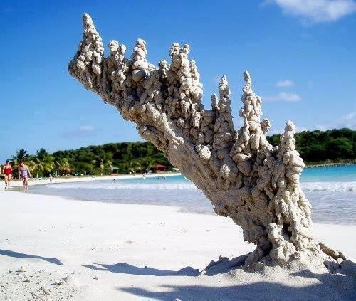 What happens when lightning strikes sand: http://t.co/mGYFALnvsh
