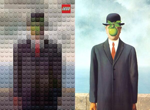 Masterpieces reworked in Lego: http://t.co/q3G6mYXnkE http://t.co/CKExIKNYy7