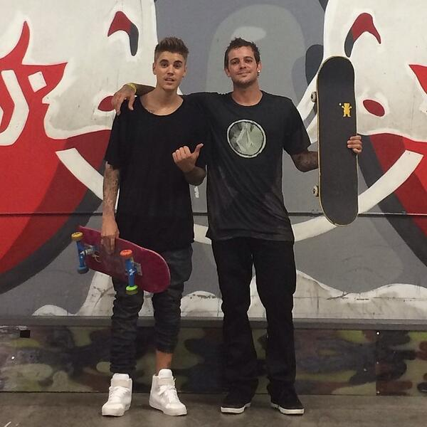 Fun session with @justinbieber. http://t.co/O57ADQ7O53