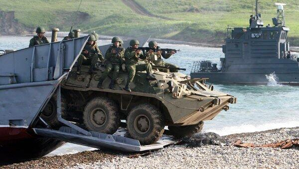 Keep an eye on the coast. Russian 810th Marine Brigade at Crimean Black Sea Fleet base, Sevastopol are ready #Odessa