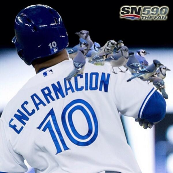 Edwin has 16HR in May (so far) – a @BlueJays record for homers in a month http://t.co/AiVIcGnNsK