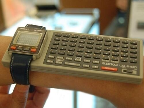 Smart watches are nothing new. Here's a 1984 Seiko... http://t.co/NOpQngPVb2 http://t.co/gpEhHimS1H