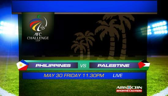 Sending positive thoughts to the @PHI_Azkals for their match tonight vs Palestine. Good luck gents! #LabanPilipinas http://t.co/glWVUvSSuy