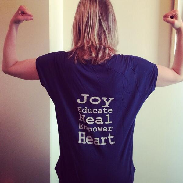 #joy #educate #heal #empower #heart #JoyfulHeart #NoMore http://t.co/G13El22H97