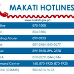 REMINDER: Makati Hotline numbers for emergency and other concerns. #MakatiTraffic http://t.co/tFRhD40QV1
