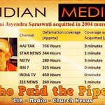 RT @vijayasaxena: Media has no time 2 REPORT d news when FRAMED Saints r proved INNOCENT! #SecularJamat can they reply to this? http://t.co/gB8N56Hp9a
