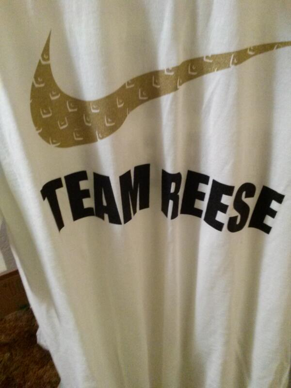 #UnleashTheBeast #TeamReese @DaLJBeast @worldexpress @nikepreclassic Tonight's attire. http://t.co/5dLkKcRxe8
