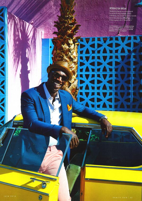 #Happy editorial in the new @VanityFair of @OmarSy wearing the Jannsson! Find it here: http://t.co/HHT7KVjmYn #TGIF http://t.co/heF7LKe0XT