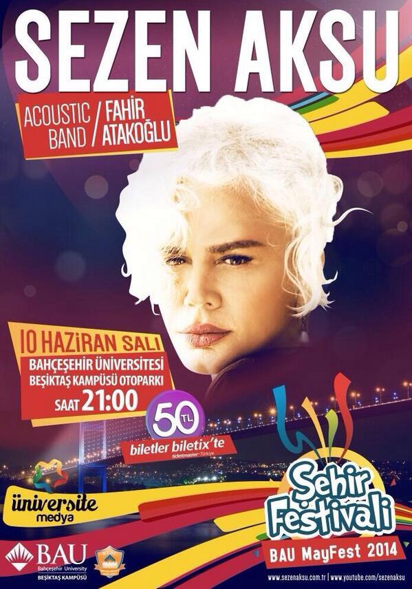 10 Haziran Bahçeşehir Üniversitesi Beşiktaş Kampüsü Otoparkı BAÜ Mayfest 2014 http://t.co/l6QiiVrMkt