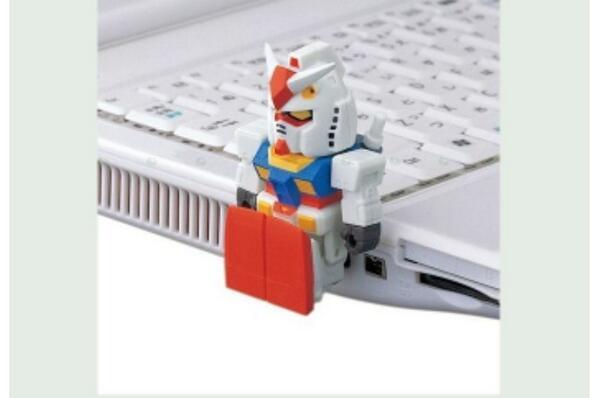 귀여운 건담 USB! http://t.co/tOpycoN8Ue