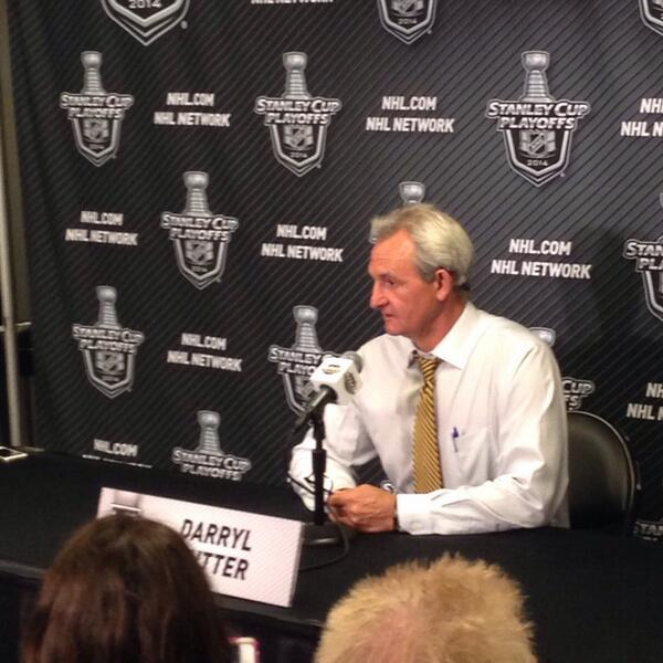 "Classic RT @LAKings: ""What did you say to the team after the loss?"" ""We fly at 11"" - The Coach http://t.co/ldlSC6peOM"