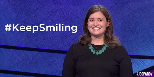 20 game champ Julia Collins (@JeopardyJulia) is back at it today! RT if you think she can win another. http://t.co/b2QMRMXFrd