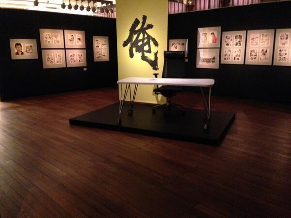 いよいよ本日から「土田世紀全原画展」スタートだマン! http://t.co/JygWyGkv6k http://t.co/LjIHenXfDJ