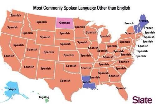 El español se impone como lengua más hablada en los EEUU tras el inglés http://t.co/OgaNItLWFI