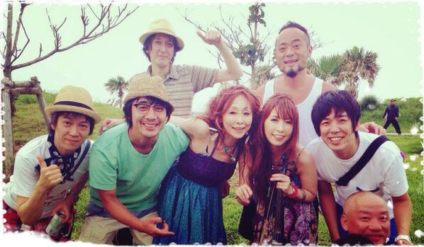 ゲストにゲンちゃん、元晴くん、ヤマ、サダくん、卓弥。 ミンナ、アリガトウ〜。 http://t.co/UQ7n8op2dt
