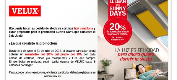 """: @VELUX Lanza su promoción de veranos de cortinas. 20% comprando tu cortinas en @allconstruccion http://t.co/jp5kLPaeWL"""" #renueva"""
