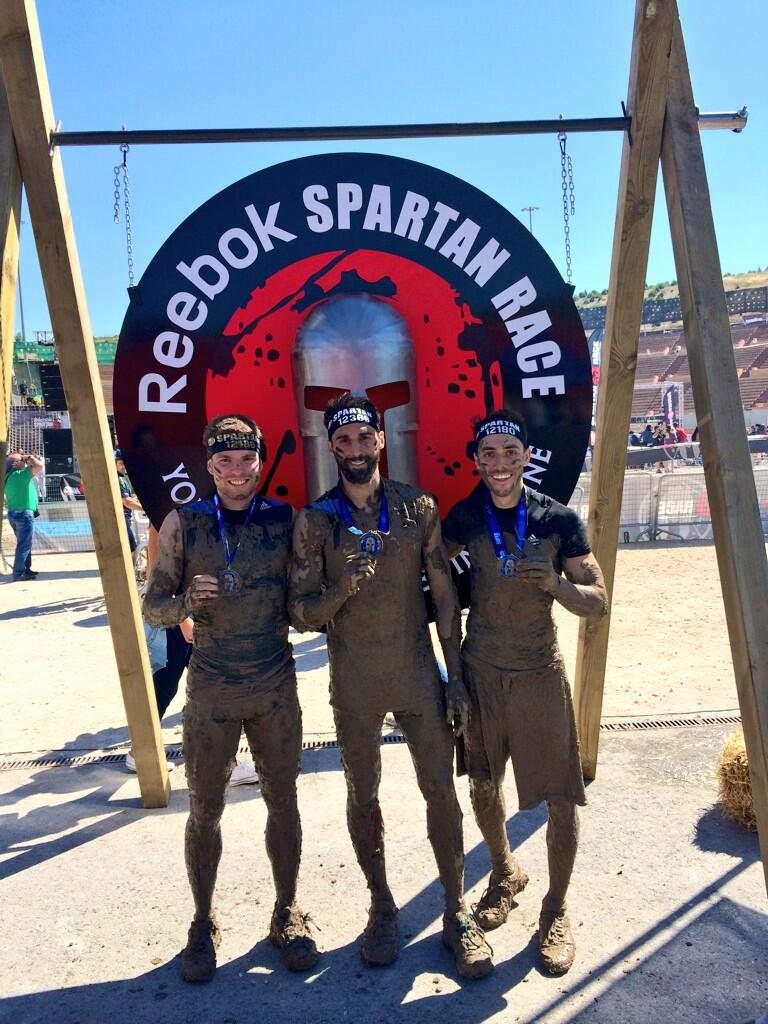RT @aarbeloa17: ?Oficialmente ya somos espartanos! ??Brutal la @SpartanRaceEsp!! #spartanracemadrid http://t.co/xRd6Nrt5Wj