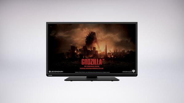 Win a L3 Series Smart TV & soundbar with @ToshibaUK http://t.co/nPfz7pjNIQ RT &follow to enter. UK, 18+only #Godzilla http://t.co/w6ptONWoHg