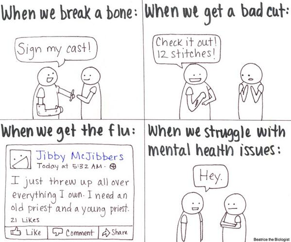 It's mental health month, ya know. #mentalhealth #anxiety #depression http://t.co/sTV8RR05f0