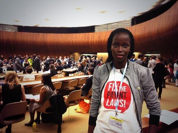 RT @MSF_southafrica: SA activist & former XDR-TB patient @ptisile at the World Health Assembly; just about to discuss #TB #WHA67 http://t.co/tKUHw6Zfsh
