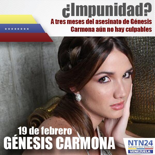 Genesis Carmona Muerte
