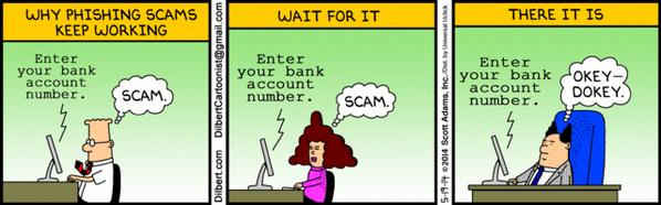 Why #phishing scams keep working... http://t.co/V5gSDSVx3G