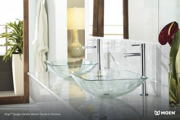Sleek, clean, and…earthy? Organic accents and modern design elements can thrive in your bathroom. http://t.co/VkeANmYwtt