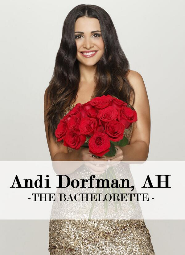 """Support Alpha Eta alumna Andi Dorfman as she begins her quest to find love on """"The Bachelorette"""" @ 9/EST on ABC. http://t.co/nkyecxfa3u"""