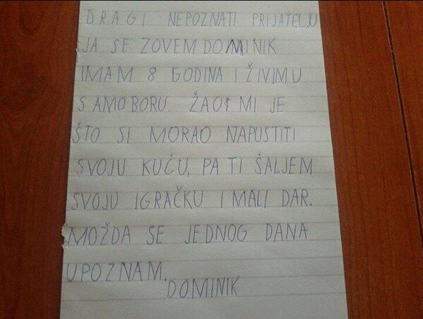 Bravo za Dominika iz Samobora http://t.co/tZgV2wAMnD #poplave #Poplave2014 #poplaveHrvatska http://t.co/UbshmZf30A