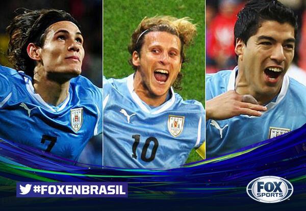 ¿Sabías qué? Uruguay es el país con más títulos internacionales: 15 Copas América, 2 Mundiales y 2 JJO. #FOXenBrasil http://t.co/YQgWvVOcT7