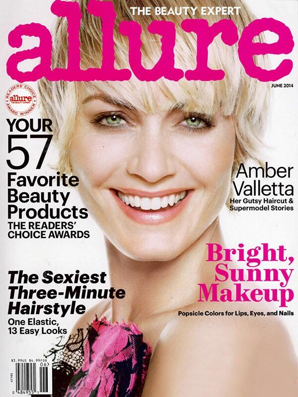 Look who's back on the cover of the June issue of @Allure_magazine ?! Love the my new haircut by @garrennewyork