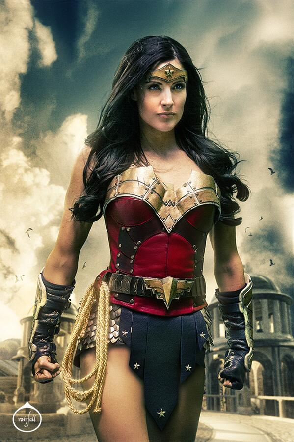 New still from the #WonderWoman project I did last year! Gah! I look so badass! Can this be real life?!  #Epic #WW http://t.co/yMF5XWJAsS