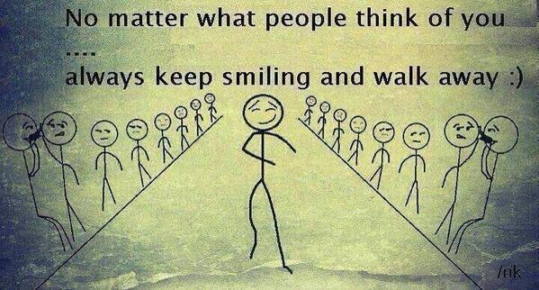 Pedulikan apa orang nak kata dekat kau. Just be Yourself. http://t.co/Qc0lfQiPFl