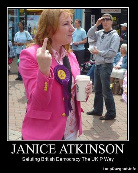 @greycells Yep, and she sure acts like one ;-) @WomenDefyUKIP @Dubdanu @Blueeyedtasha87 @JaniceUKIP @SLATUKIP #UKIP http://t.co/O7pb2LQtbi
