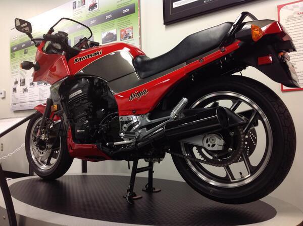 30 Years of Ninja: The #Ninja 900 hit the market in 1984 marking a new era in motorcycling winning bike of the year. http://t.co/KwiwtwQ2Z3