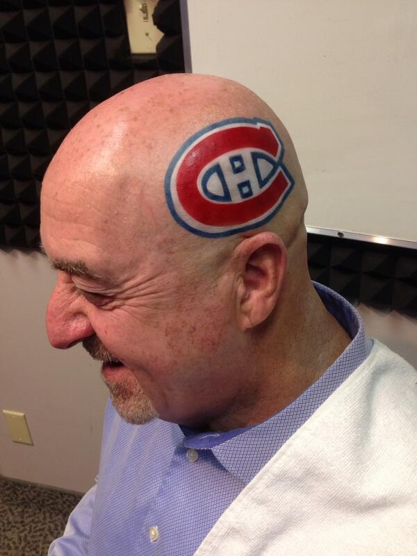 Thunder Bay Mayor Loses Bet, Gets Habs Logo Tattoo On Head