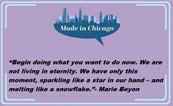 """Begin doing what you want to do now...""- Marie Beyon #inspirational #speaker #MICSB http://t.co/IFH73RYMYo"