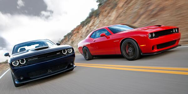 It's here: The 2015 @Dodge #ChallengerSRT. Details: http://t.co/a1YY03E7su. http://t.co/2l4vmlL9QJ