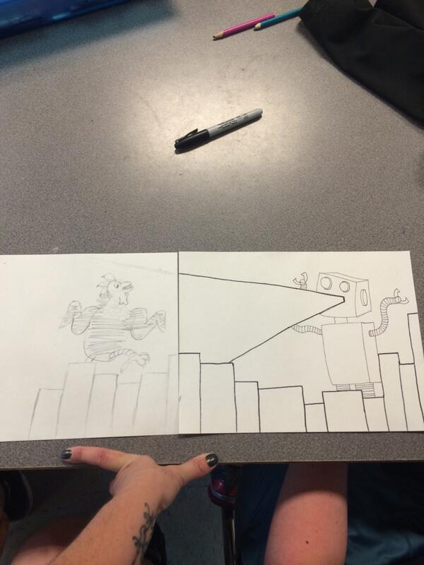 Collaborative work by Taylor & Connor! #DPLN http://t.co/aJDW2bzjaY