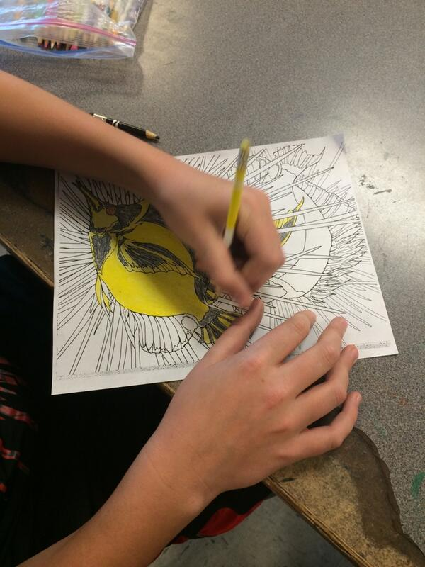 Will is working on a coloring page. #DPLN http://t.co/9AUEVJ5viq