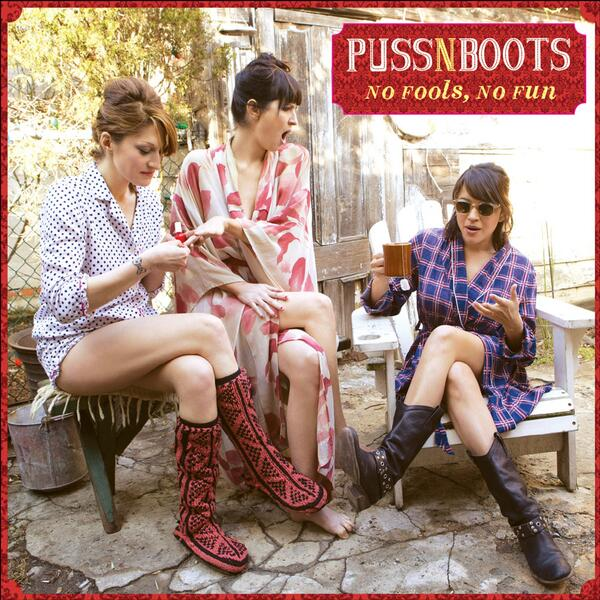 "New @pussnbootsmusic album ""No Fools, No Fun"" out July 15 on @bluenoterecords. More info at http://t.co/iC43R3g5dL http://t.co/0O6pWmG0zz"