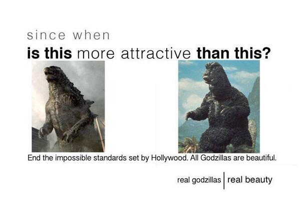 All Godzillas are beautiful. http://t.co/oEi10RNy6O