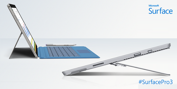 Meet #SurfacePro3, the tablet that can replace your laptop. Pre-order today: http://t.co/sfxtBjlDtZ http://t.co/EuaBsT7xYs