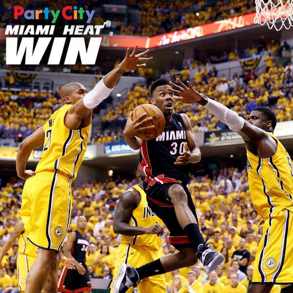 Time to TURN UP THE HEAT! HEAT are comin' home & we gotta bring that intensity & the #HEATnation Gotta GO BANANAS! http://t.co/clKHF1V672