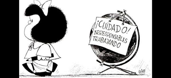 Quino, padre de #Mafalda, Premio Príncipe de Asturias de Comunicación y Humanidades 2014. http://t.co/VJiPhBAO1G http://t.co/3DSyxVLZJl