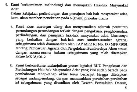 """Cuma Jokowi-JK yang mengkhususkan program untuk masyarakat adat @RumahAMAN - dalam """"Berdaulat dalam politik"""" http://t.co/qUTjVvrfR4"""