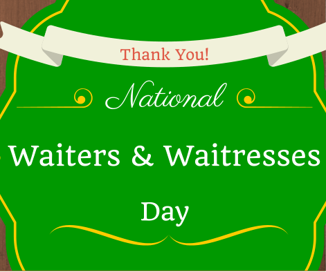 Today is National Waiters and Waitresses day! A big thank you to all of our great Green Mill servers. http://t.co/PiTluuMtjS